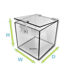 "1/4"" Thick Acrylic Box w/..."