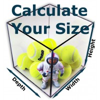 Calculate Your Size - Clear Acrylic Box