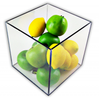 5 Sided Acrylic Boxes, Plexiglass Boxes & Lucite Display Boxes