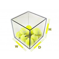 "1/4"" Thick Clear Acrylic Plexiglass 5 Sided Boxes"