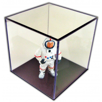 Acrylic Display Boxes With Black Bases