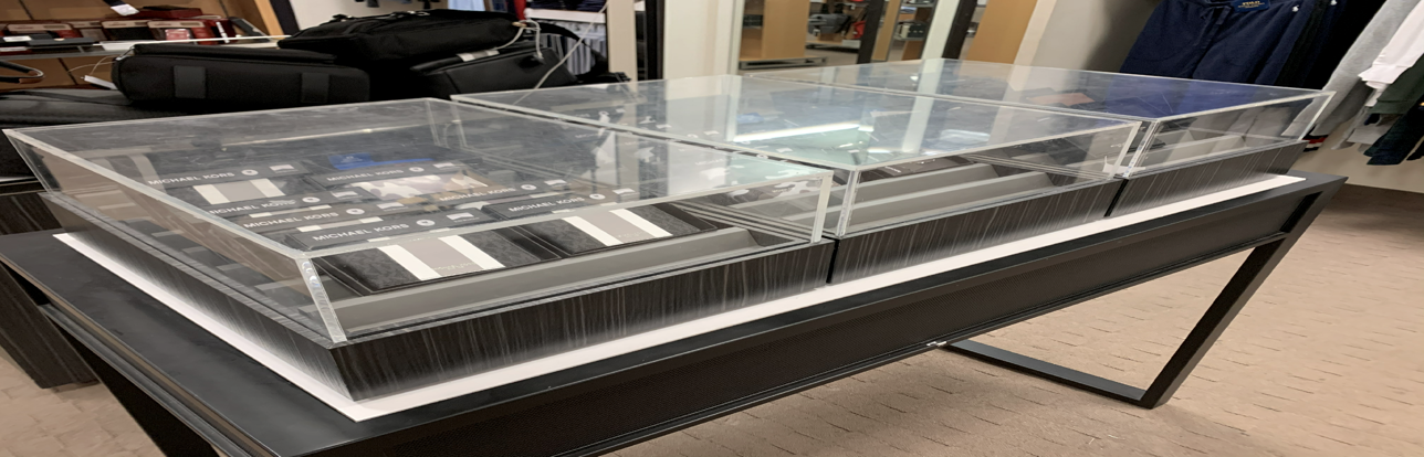 Clear 5 Sided Clear Acrylic Display Boxes